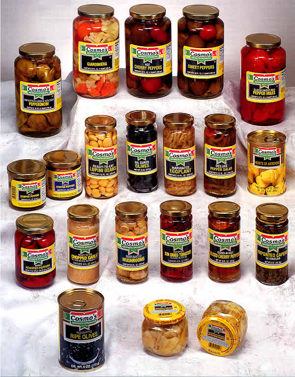 cosmo s food products home page